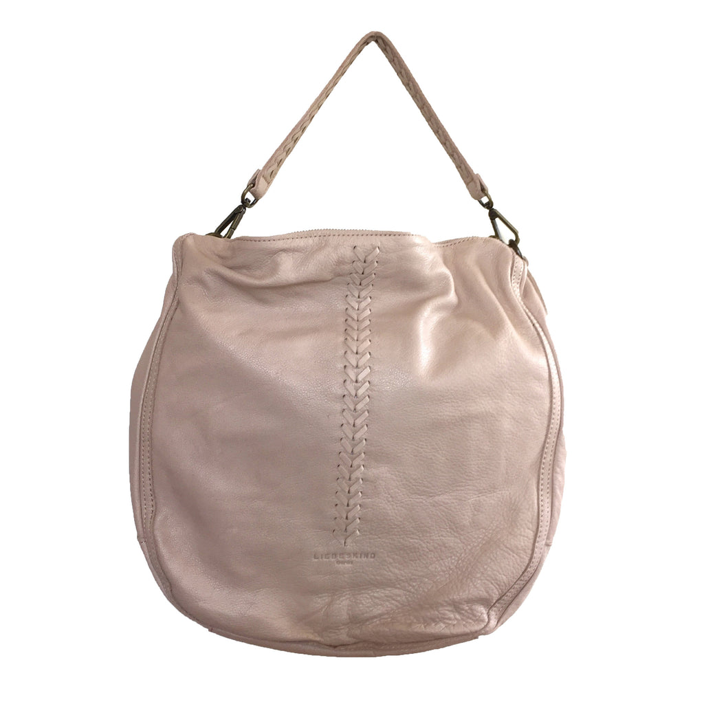 Liebeskind Berlin Icon Niva Leather Hobo Light Powder