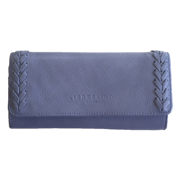 Liebeskind Berlin Icon Onna Leather Wallet Blue