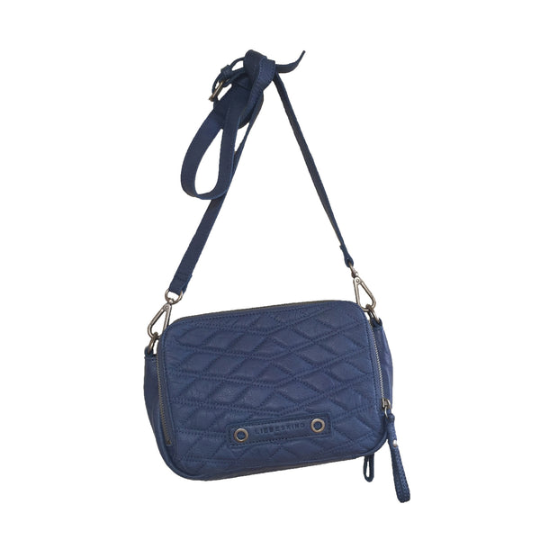 Liebeskind Berlin Double Dyed Anett Crossbody Bag Blue