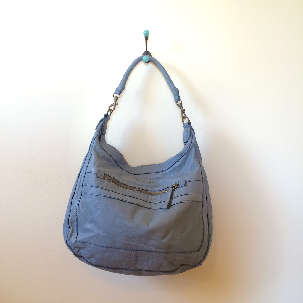 Liebeskind Berlin Vintage Plus Dinah Hobo Soft Blue