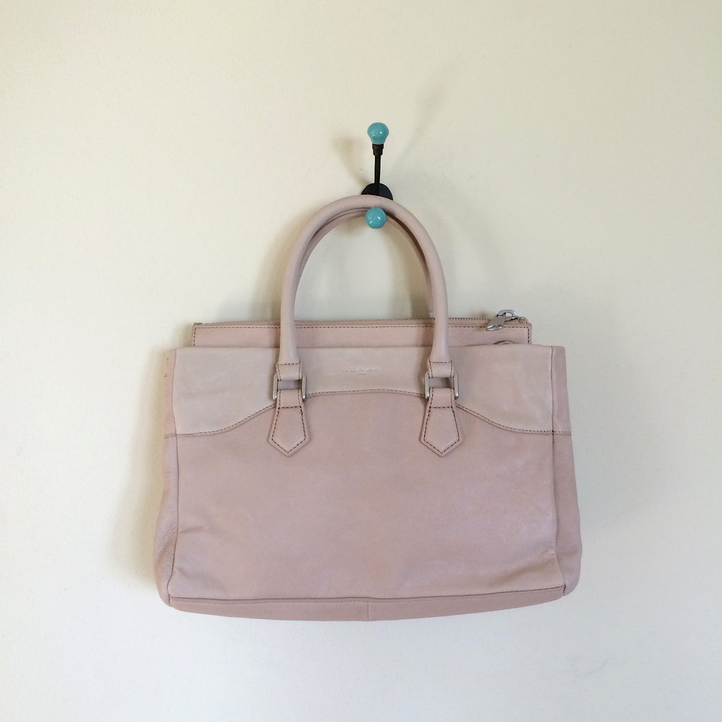 Liebeskind Berlin Vintage Georgia Satchel Powder Rose