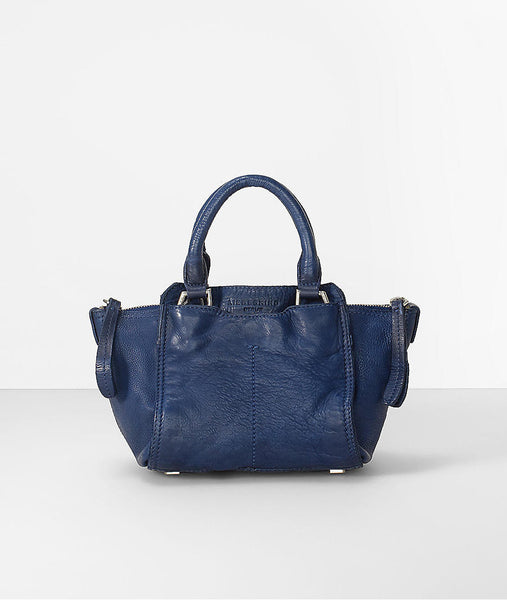 Liebeskind Berlin Toredo Minya Satchel Ceremony Night Blue