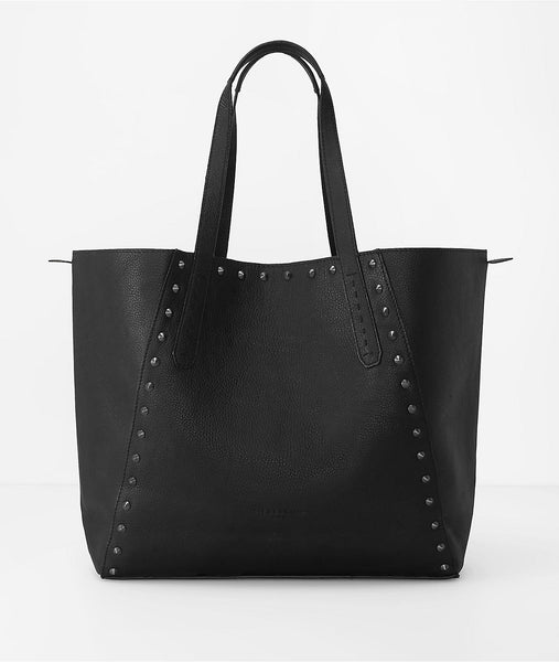 Liebeskind Berlin Niigata F7 Reversible Leather Tote Nairobi Black