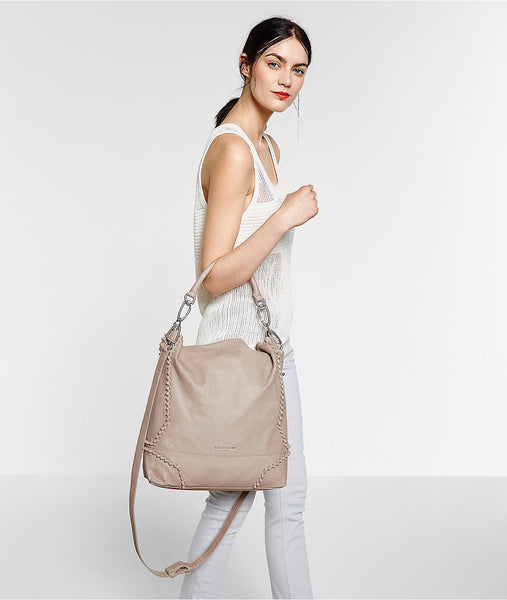 Liebeskind Berlin Double Tokio F7 Shoulder Bag Desert Beige