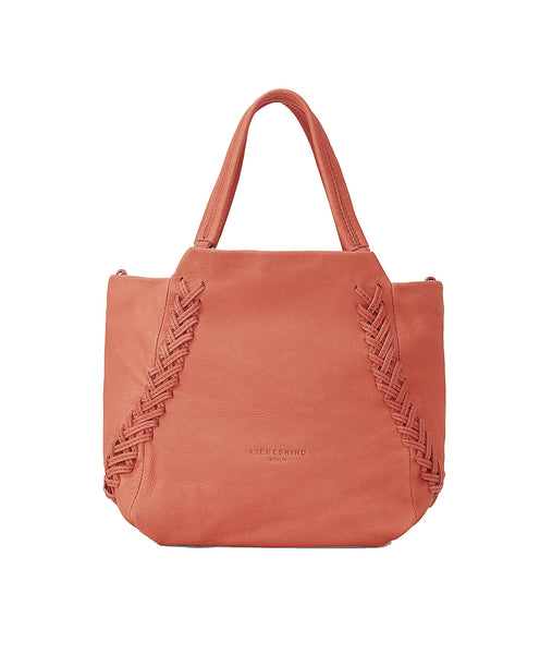 Liebeskind Berlin DePlBD Masunga Leather Shoulder Bag Reef Coral