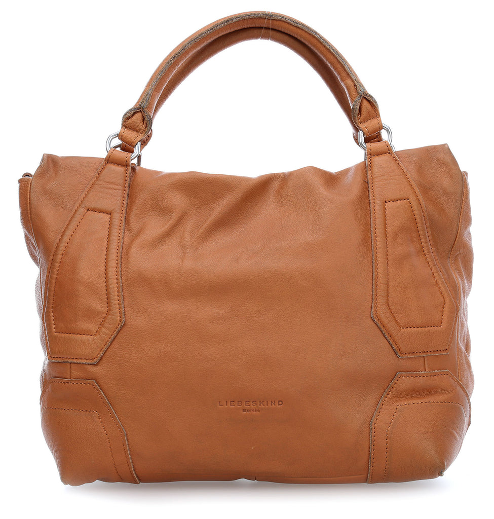 Liebeskind Berlin Vintage KobeW Shoulder Bag Hazelnut Brown