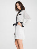 Brigitte Snow 100% Silk Robe