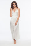 Cameron Blanc 100% Silk Slip Dress