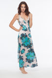 Cameron Floral 100% Silk Slip Dress