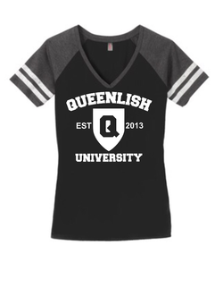 Queen Game Day V-Neck