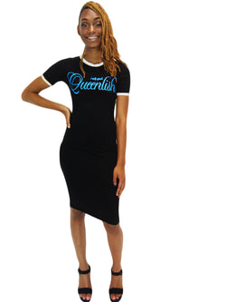 Queenlish Midi T-Shirt Dress