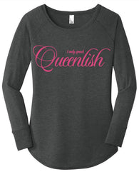 I Only Speak Queenlish Long Tunic