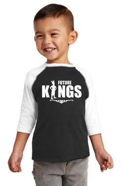 Future King Toddler Baseball Tee
