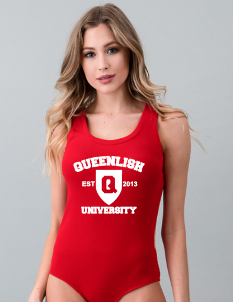 Queen Scoop Neck Bodysuit