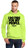 My People Neon Yellow Hoodie