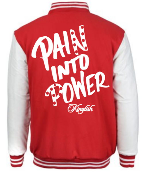 Pain Into Power Peppermint Letterman