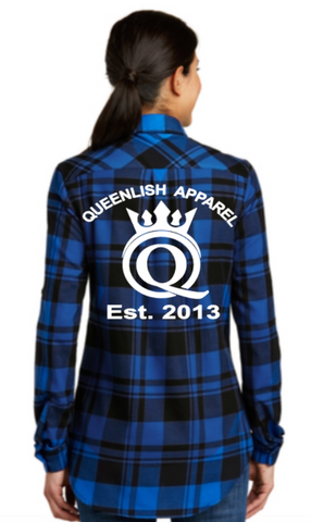 Queenlish Flannel Tunic
