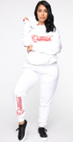 White as Snow Queenlish Sweatsuit
