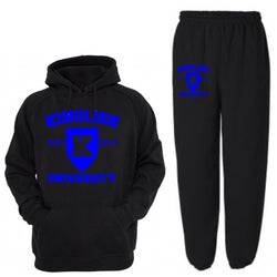 King University Sweatsuit Blue (2 pc)