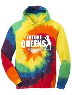 Future Queen Tie-Dye Hoodie (youth)