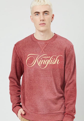IOSK Heather Crew Neck