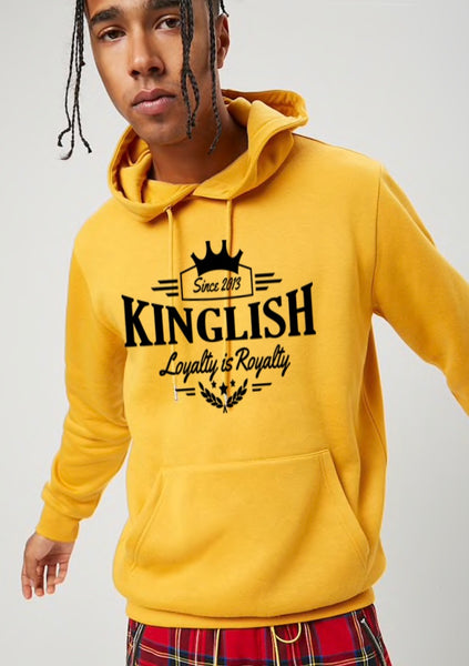 Kinglish - Loyalty is Royalty Hoodie