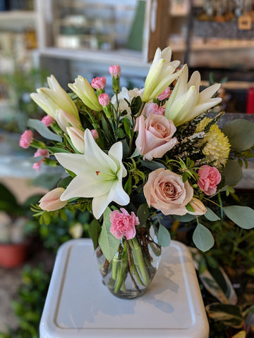 Laurel's Spring Vase Arrangement
