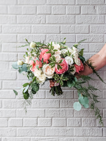 Laurel's Signature Bridal Bouquet