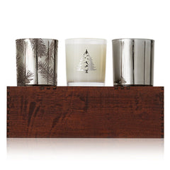 Thymes Frasier Fir Statement Aromatic Candle Trio