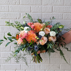 Laurel's Signature Wedding Bouquet