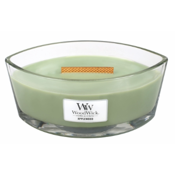 Applewood WoodWick Candle HearthWick Flame
