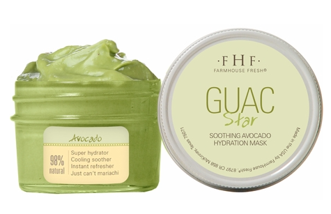 FarmHouse Fresh Face Mask - Guac Star