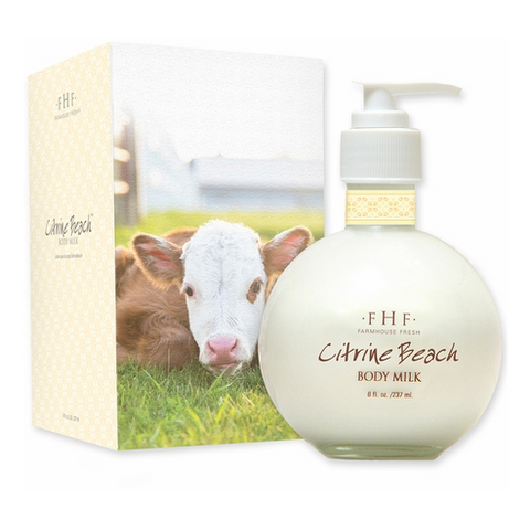 FarmHouse Fresh Body Milk Lotion - Citrine Beach