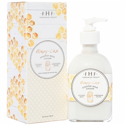 FarmHouse Fresh Steeped Milk Body Lotion - Honey Chai
