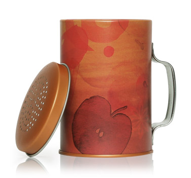 Thymes Simmered Cider Tin Shaker Candle