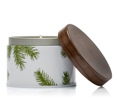 Thymes Frasier Fir Heritage Candle Tin