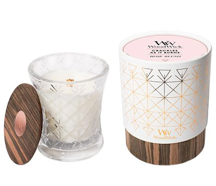 WoodWick Aura Collection - Rose Blush