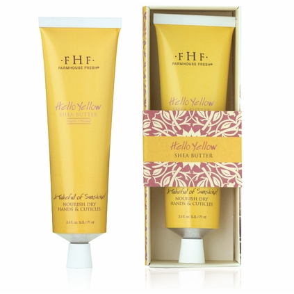 FarmHouse Fresh Shea Butter Body Cream - Hello Yellow