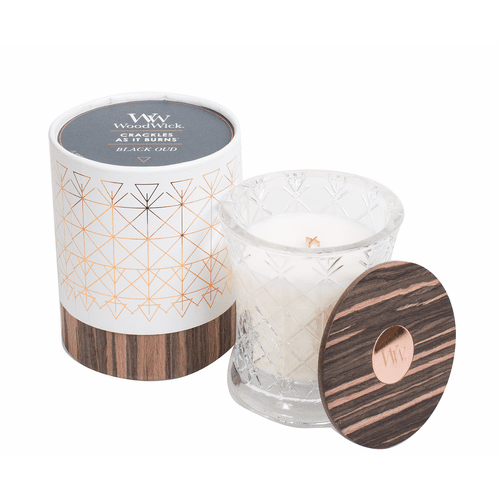 WoodWick Aura Collection - Black Oud