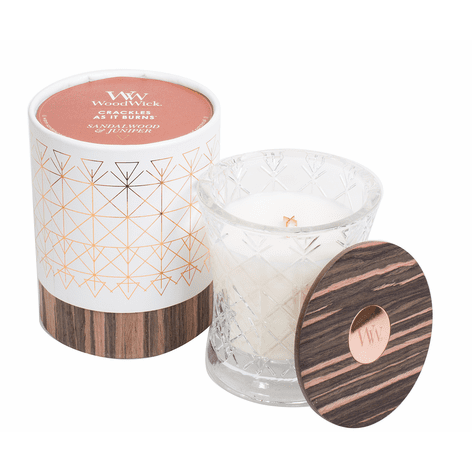 WoodWick Aura Collection - Sandalwood & Juniper