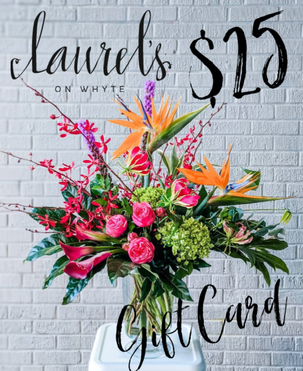 Laurel's On Whyte Gift Card