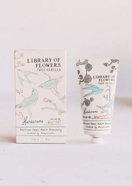 Library of Flowers - True Vanilla Handcreme