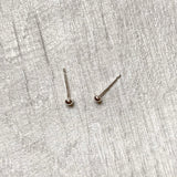 Tiny pebbles studs