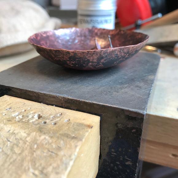 Little copper bowl