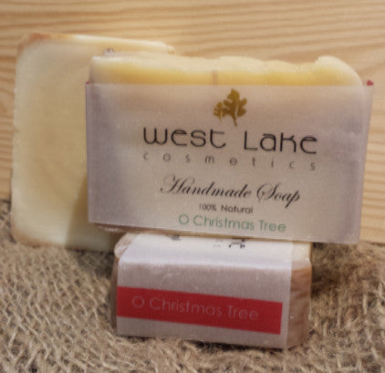 O Christmas Tree Soap