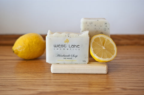 Lemon Poppyseed Soap