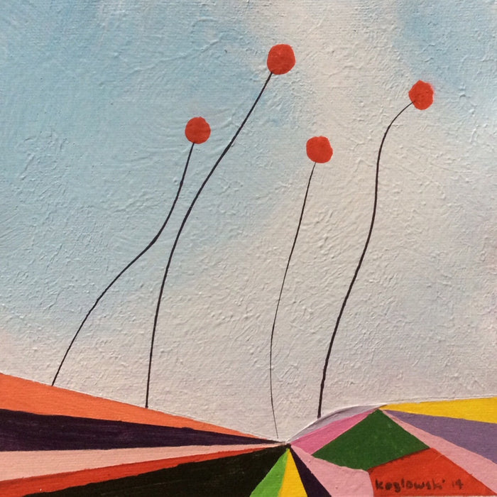 """Poppies on the Horizon of Oz IV"""