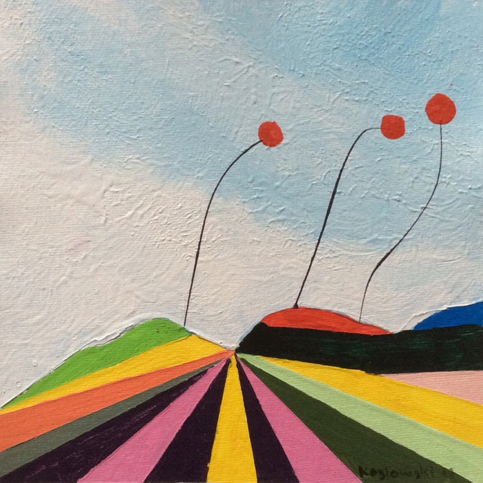 """Poppies on the Horizon of Oz I"""