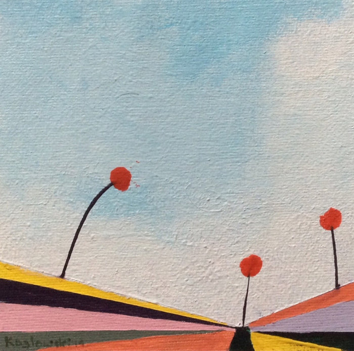 """Poppies on the Horizon of Oz V"""