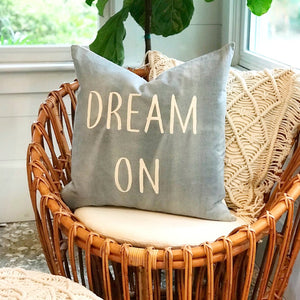 dream on pillow